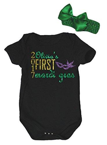 Petitebelle Baby Mädchen (0-24 Monate) Body schwarz schwarz Gr. 40 W/33 L, schwarz