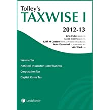 Tolley's Taxwise I 2012-13 (Tax Guide)