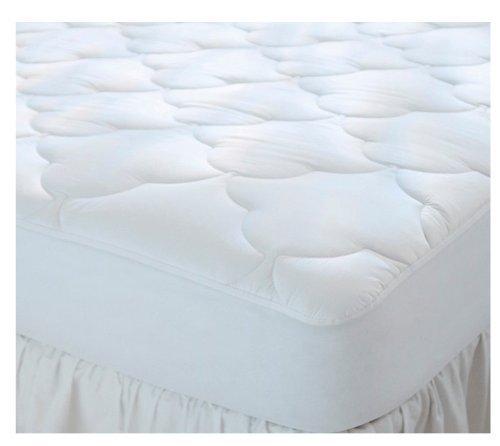 Top-twin-matratze (Gesteppte Kinderbett und Twin Größe Wasserdicht Baumwolle Top Camp Matratze Pad)