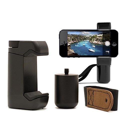 Shoulderpod S1 Professionelle Smartphone Halterung für Apple iPhone 6S/6S Plus/6C, Samsung Galaxy S6 mit Stativhalterung, Handgriff und Aufsteller