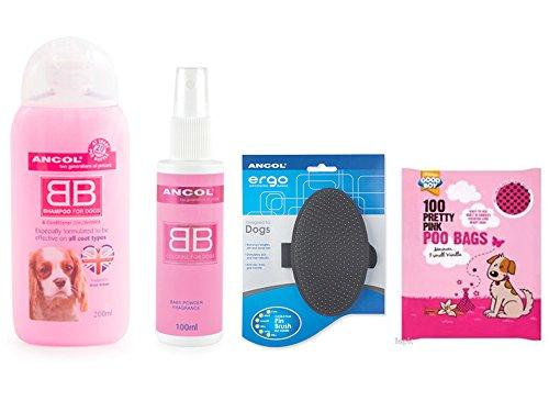 ancol-dog-shampoo-and-conditioner-dog-groomers-spray-baby-powder-dog-spray-and-dog-grooming-brush-an