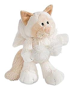 NICI- Gato de Nieve de Peluche, Color Blanco, 35 cm (40909.0)