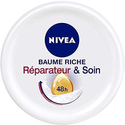 Nivea Rich Balm Riparazione e Extra cura della pelle secca e danneggiato 300 ml