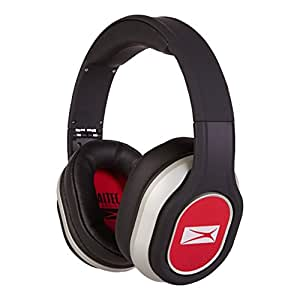 Altec Lansing MZX656-RED Foldable Headphones, Red