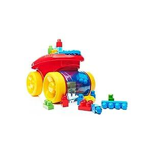MEGA- Block SCOOPING Wagon Bloks CNG23 Vagone Raccogli Blocchi, Multicolore 9552262855429 LEGO