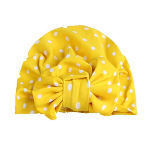 Gyratedream Baby Mütze Neugeborene Floral Indian Turban Knoten Stirnband Hüte Caps Elastcic Kopf Wickelt für 0-3 Jahre Unisex Kind - Mädchen Indian Für Hut