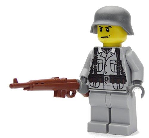 WW2 WWII Custom Soldado Alemán con BrickArms G43