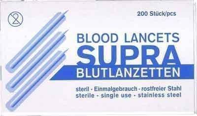 HCS Einweg - Miliensp. /blutlanzetten (Einweg-lanzetten)
