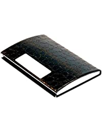 Card Holder, PU Leather Business Card/ Visiting Card/Credit Card Holder Wallet With Magnetic Closure