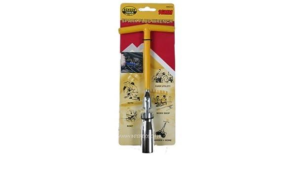 Zündkerzenschlüssel Kerzenschlüssel Steckschlüssel Gelenkschlüssel T-Griff 16mm