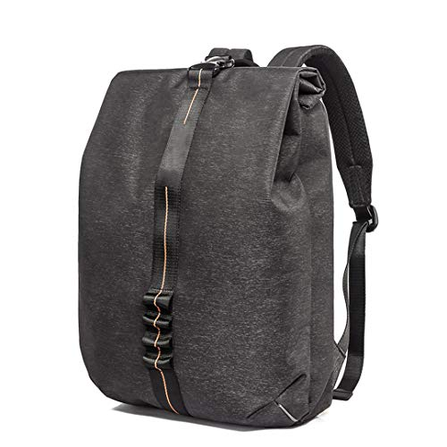 Business-Mode-Rucksack mit USB-Ladeanschluss für 15,6-Zoll-Laptop-Reiserucksack Wasserdichter College-Rucksack Black 15 Inches