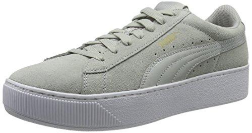 Puma Damen Vikky Platform Sneakers Grau Gray Violet 03, 40 EU