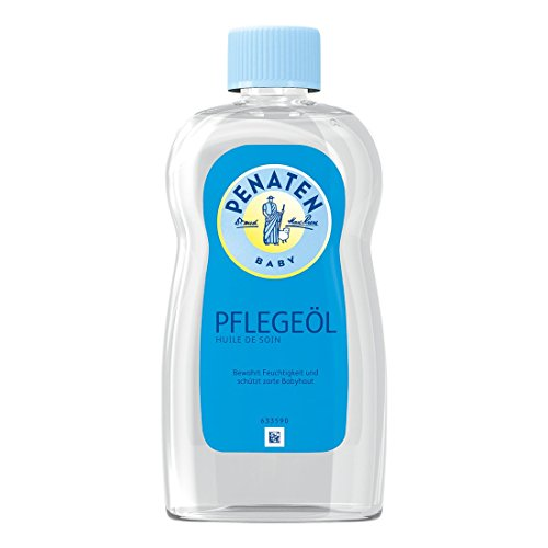 Penaten Pflege-Öl 500ml - Pflegendes Körperöl zur sanften Pflege und Reinigung von empfindlicher Babyhaut - Bewahrt Feuchtigkeit (1 x 500ml)