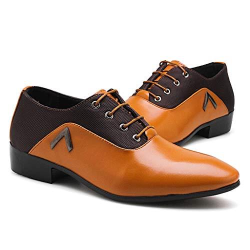 Marea Británica Zapatos de los Hombres Zapatos Casuales Tendencia Juvenil Señaló Pequeños Zapatos...