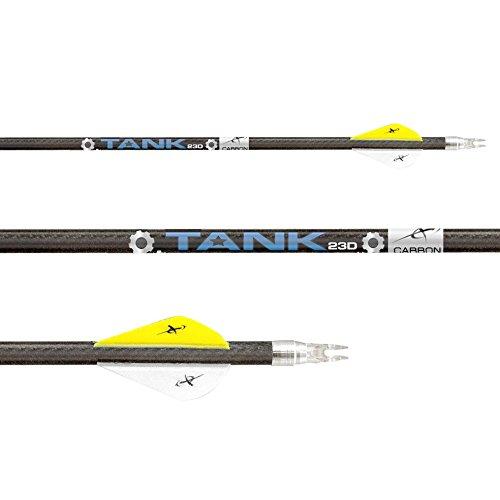 Carbon Express Tank 23D .500-12 Pack Shafts -