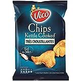 Vico chips kettle cooked nature 120g - Prix Unitare - Livraison Gratuit Sous 3 Jours
