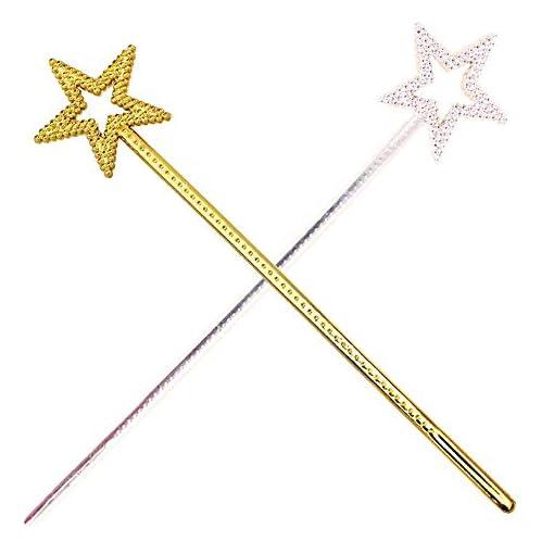 Gogogo-Stern-Fee-Paillette-Zauberstab-Aschenputtel-Prinzessin-Kostm-Zubehr