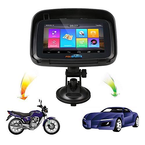 GPS-Navigationsgerät für Motorrad, Android 6.0, WLAN, wasserdicht, Bluetooth, GPS, IPX7, RAM, 1 G, ROM, 16 G