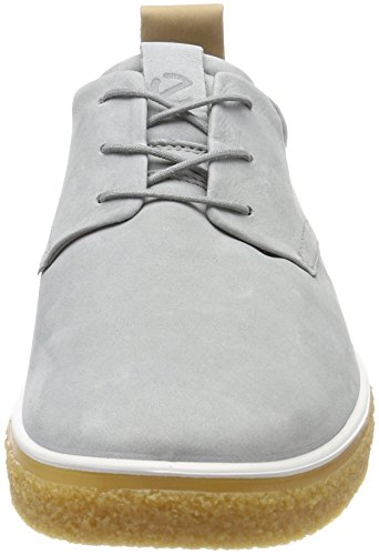 Ecco Crepetray, Chaussures Hommes Brouge Gris (colombe Sauvage / Poudre)