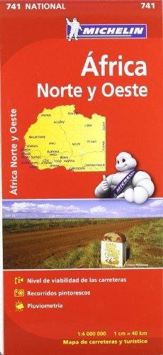 Mapa National Africa Norte y Oeste (Mapas National Michelin)