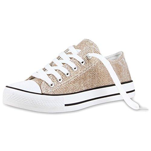 Japado , Sneakers Basses femme Or - Doré