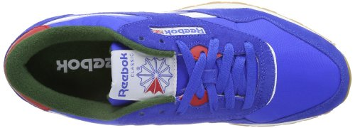 GREEN V55242 Leichtathletikschuhe RACING RED NYLON VITAL Mehrfarbig BLUE Herren WHITE R13 CL Reebok EXCELLENT F7tZqOW