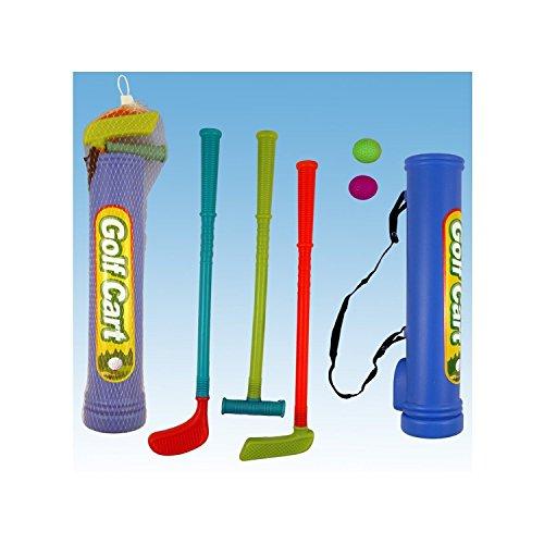Henbrandt Kit de golf pour enfants avec clubs et balles (Golf-artwork)