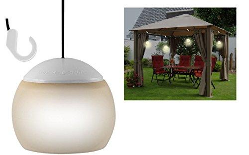Lampada led a sospensione, ideale per giardino, campeggio e gazebo, 4 pezzi