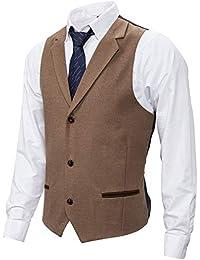 Chalecos de vestir para hombre | Amazon.es