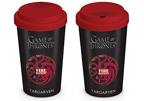 Pyramid International Game of Thrones, Casa Targaryen, Tazza da Viaggio,...