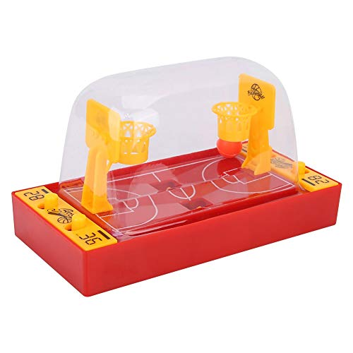 VGEBY Basketball Tisch Spielzeug, Mini Basketball Desktop Spiel Set Schießen Spielzeug für Kinder (Desktop-basketball-spiel)