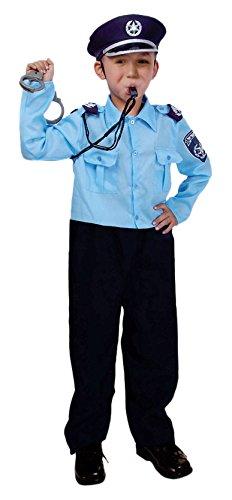 Israel Kostüm - Dress Up America Israelischer Polizist Kostüm für Kinder
