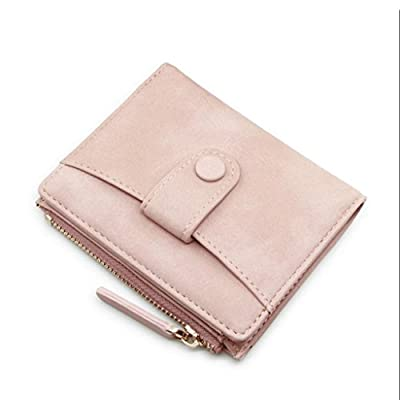 ZLR Mme portefeuille Ladies Small Wallet New Lady Short Paragraph Portefeuille pliant Mini-porte mince