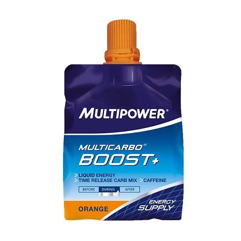 Gel Energético MultiCarbo Boost Multipower 12 Geles x 100ml Naranja