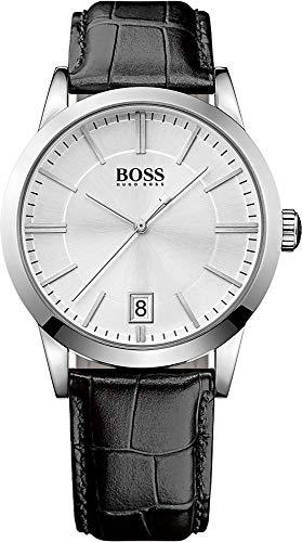Hugo Boss Classic 1513130 - Orologio da uomo con movimento al quarzo, quadrante analogico e...