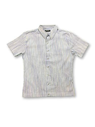 Preisvergleich Produktbild Thierry Mugler Shirt in White and Blue Candy Stripe - 16