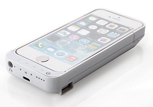 Zogin Coque Batterie Ultra Fin 4200mAh pour iPhone 5 5S 5C Haute capacité Batterie externe de secours rechargeable Housse batterie Power Case 6 couleurs à option