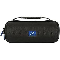 Dnpro-SLR pour Bose SoundLink Revolve Haut-Parleur sans Fil Bluetooth (Noir, Nylon, Aucune Station d'accueil)