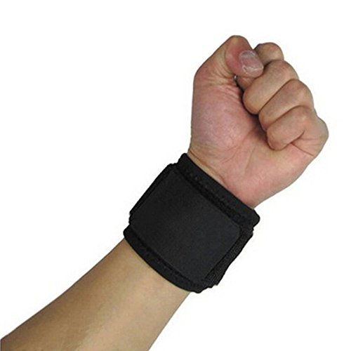 Universal Wrist Wrap (LISRUI New Universal Einstellbare Sport-Armband Wrist Brace Wrap Unterstützung Gym Strap)