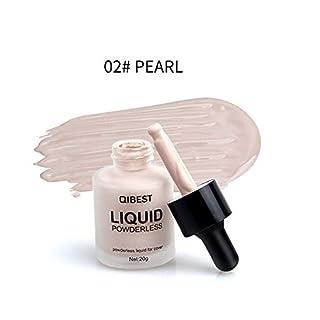 TAOtTAO QIBEST Makeup Liquid Foundation Moisturizing Waterproof Concealer BB Cream (B)