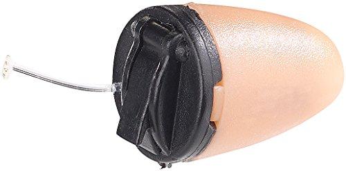 Callstel Zubehör zu Spy Headset: Mini-Ohrstecker für induktives Headset SHS-100 (Ohrknopf unsichtbar)