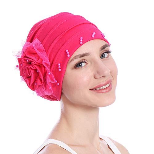 SEWORLD Heißer Einzigartiges Design Mode Indische Blume Stretch Muslim Kopftuch...