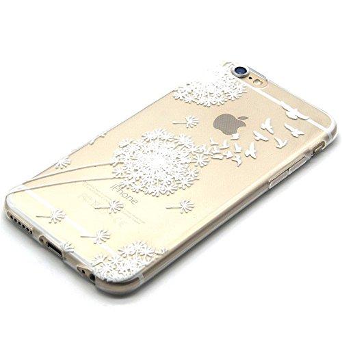 TPU Silikon Schutzhülle Handyhülle Painted pc case cover hülle Handy-Fall-Haut Shell Abdeckungen für Smartphone Apple iPhone 6 6S (4.7 Zoll)+Staubstecker (Q3) 8