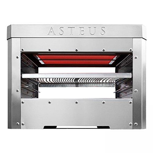 ASTEUS Steaker Elektro Infrarot Grill 800 Grad für Indoor / Outdoor Edelstahl V2A