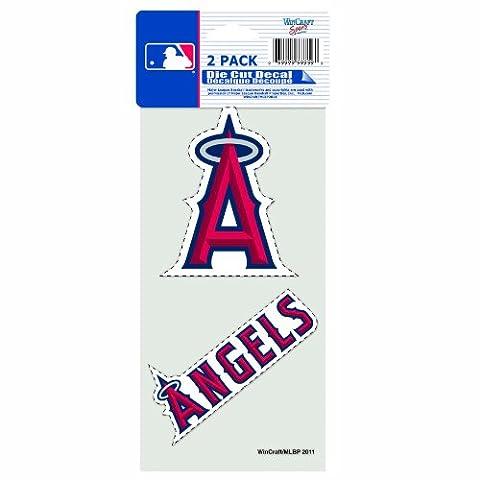 MLB 2pièces prédécoupé Autocollant, 10,2x 20,3cm, official team colors.