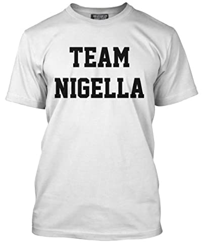 Team Nigella T-Shirt - Various Colours Available- Mens White, X-Large