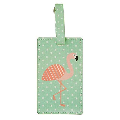 Sass & Belle - Etiqueta para equipaje  rosa azul