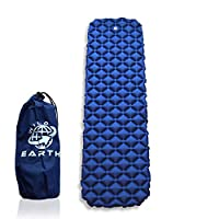 Wild Earth Ultra Lightweight Inflatable Sleeping pad Camping Roll Mat Sleep Pad 6
