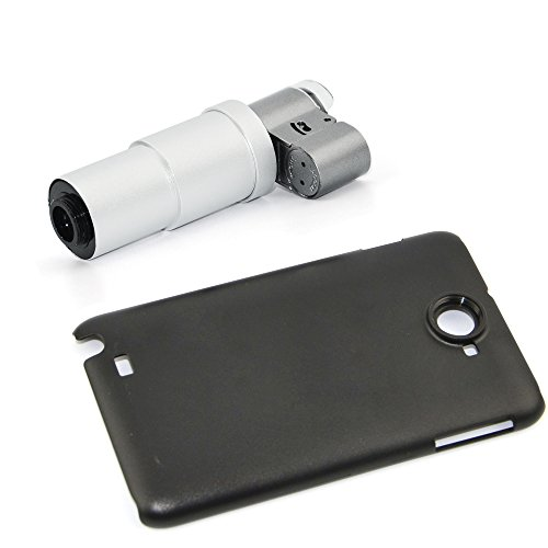 Apexel Mikroskop-Aufsatz für Handys, 50cm Brennweite, Aluminium Für Samsung Galaxy Note N7000...