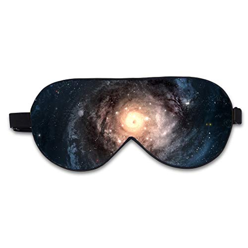 QIULAO Augenmaske/Schlafmaske, berühmte Malerei-Serie Doppelschicht-Normallack-Samt-Silk-Brille-Silk Shading-Schlaf-Augenschutz, 100% super weiche Haut-natürliche Seide, verwendbar für jedermanns Sc